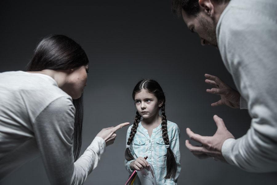 θυμός-γονείς-κόρη