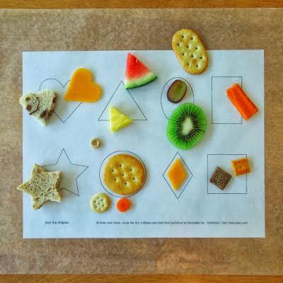 φαγητό-σχήματα