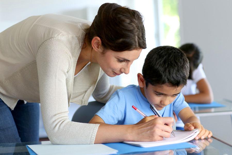 δασκάλα-μαθητής