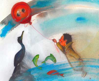 κόκκινο-κουμπί-θαλασσοκόρακας