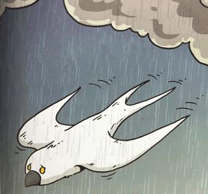 χελιδόνι-λυπημένο